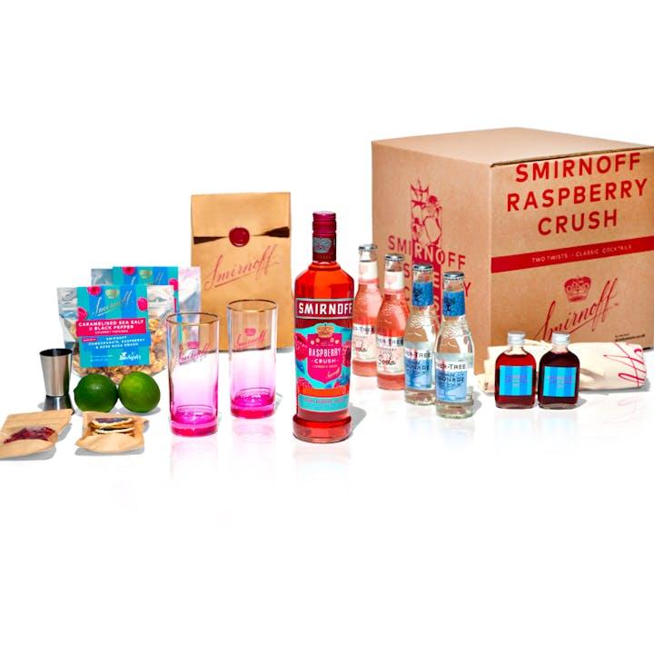 Smirnoff Raspberry Crush Cocktail Box