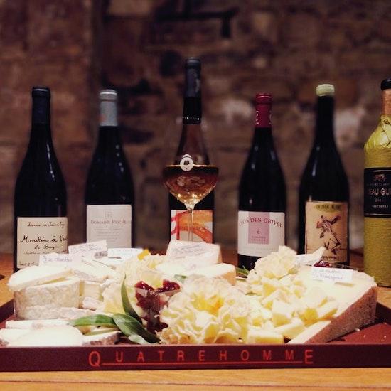 Dégustation de 7 Vins et 7 Fromages chez Ô Chateau