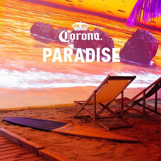 Corona Paradise: la experiencia interactiva más instagrameable del verano