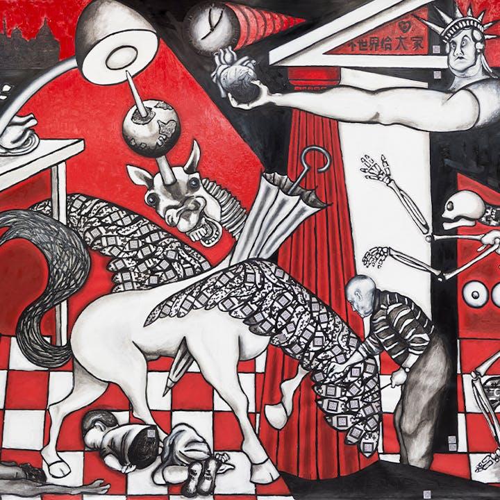 The Red Guernica, la exposición en Deusto Expo Center