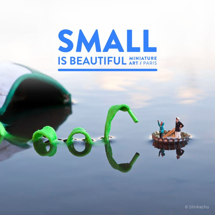Small is Beautiful : Exposition d'art miniature