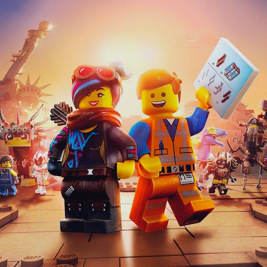 The Lego Movie 2 At Odeon London Fever