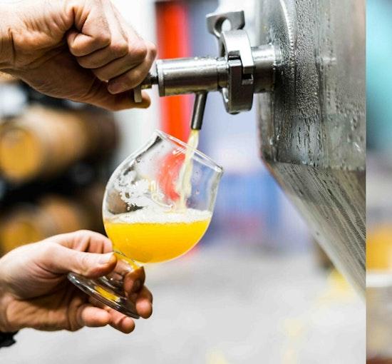 Visita a la fábrica de Cervezas Antiga y cata ilimitada