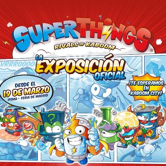 Superthings, la exposición oficial, en IFEMA