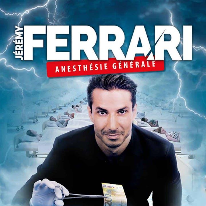 Jérémy Ferrari en spectacle au Cepac Silo