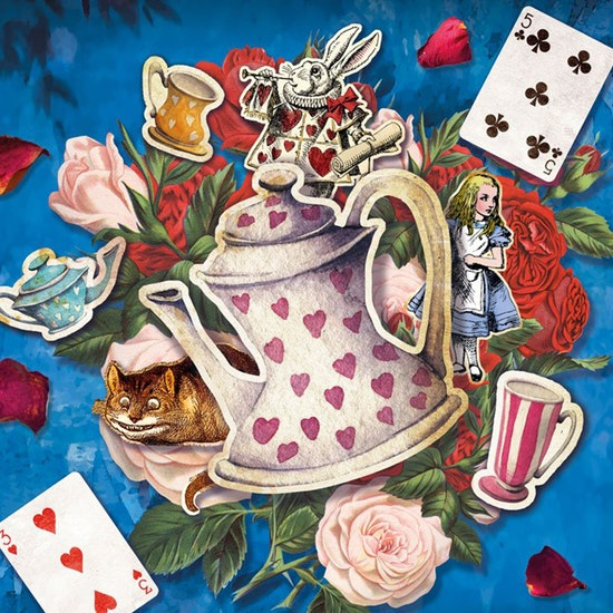 A Curious Tea Party - Print & Play Game Experience