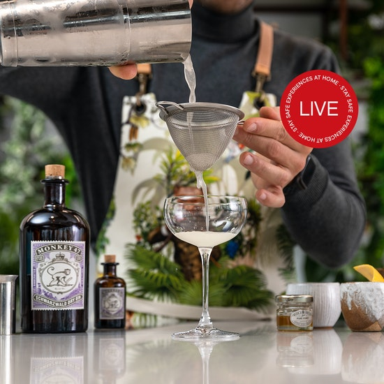 Online Monkey 47 Cocktail & Culinary Experience With MasterChef Finalist