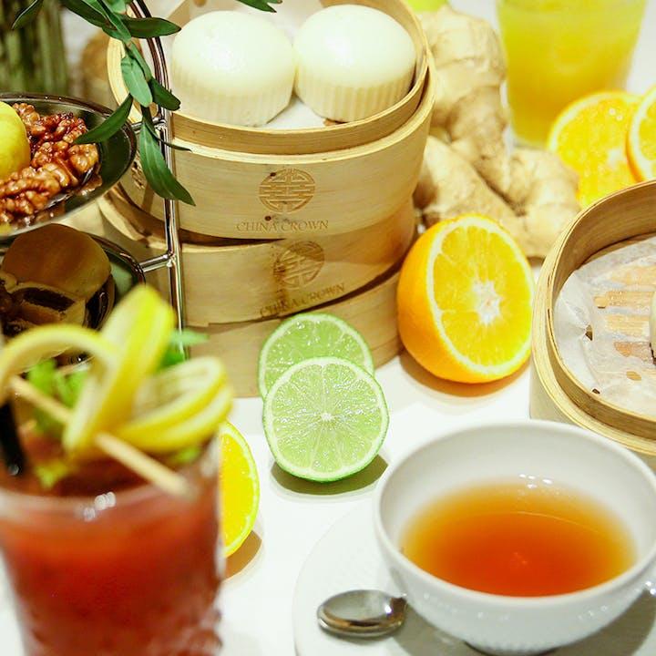 Brunch Ginseng en China Crown