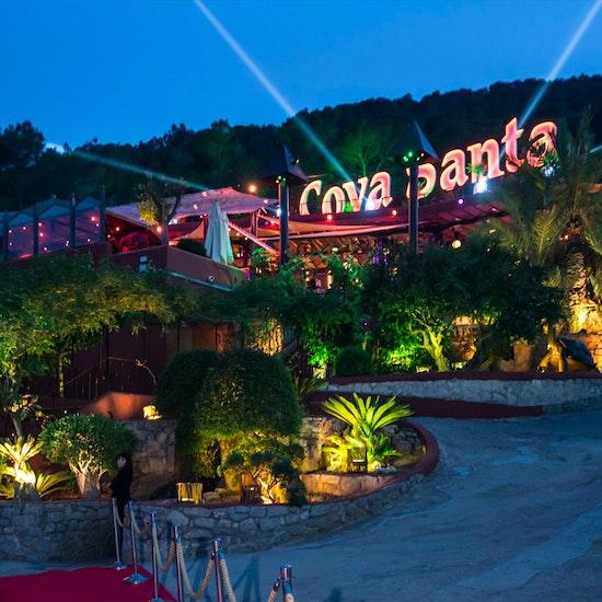 Dining and Cave Exploring at Cova Santa