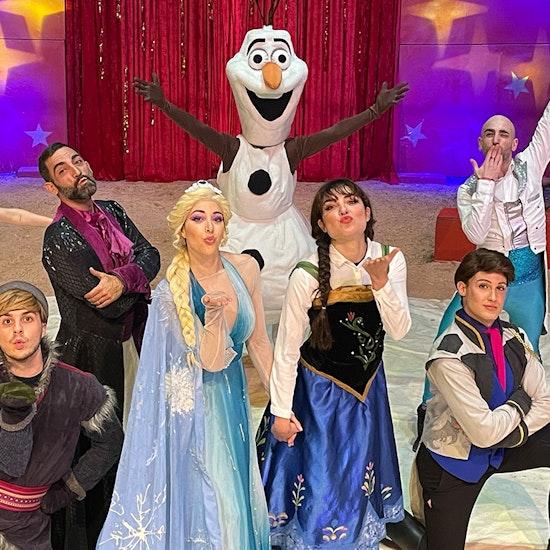 Frozen: el mágico musical con espectáculo circense