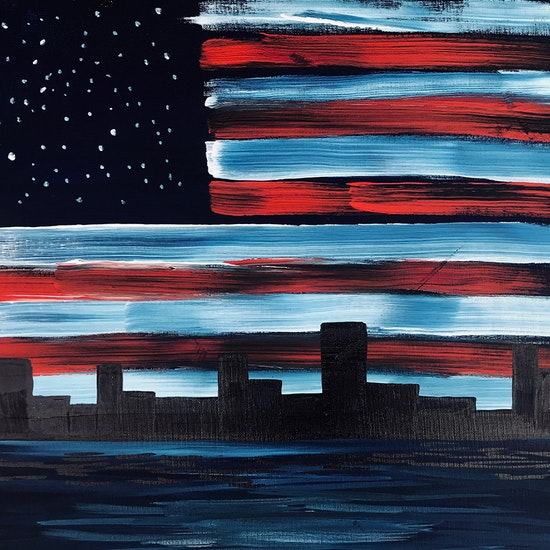 4th of July Painting Party!