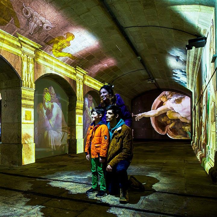 Michelangelo & Da Vinci: Experiência Imersiva by Ocubo