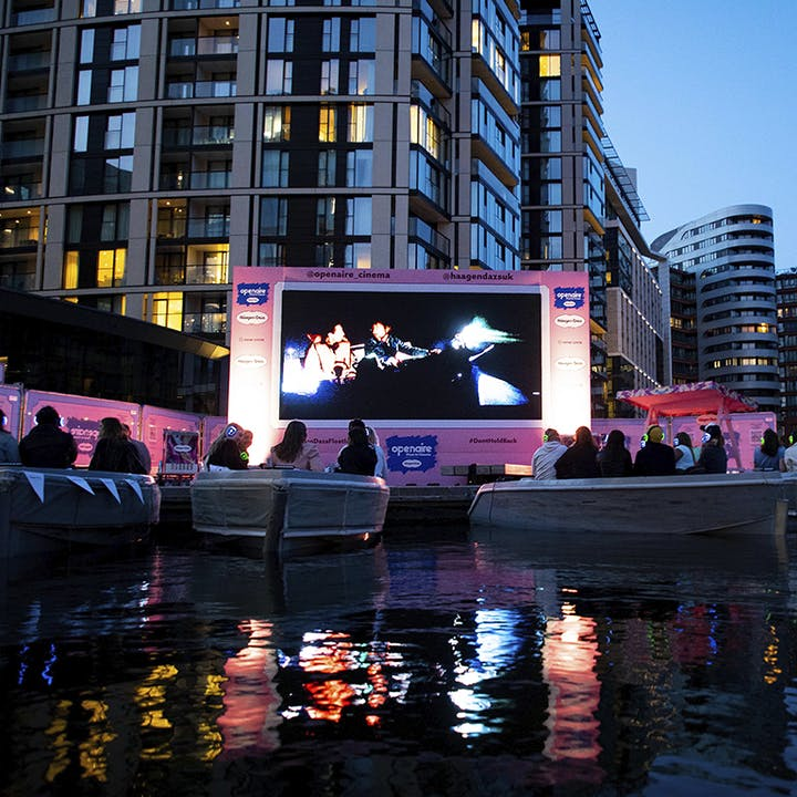Openaire Float-In Cinema presented by Häagen-Dazs