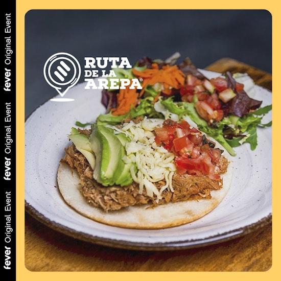 "Majo's Food: Brunch arepero o arepa ""street style"" + bebida en Ruta de la Arepa"