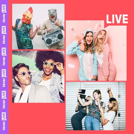 Live Stream Quarantine Mega Party... From Home!