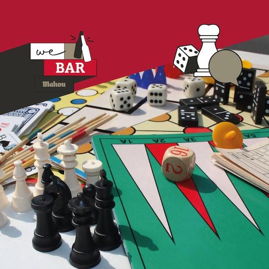 Campeonato de juegos de mesa en Madrid - We Bar Mahou