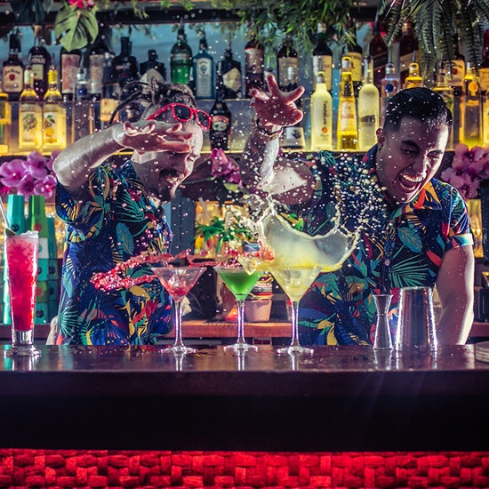 3 Cocktails at Tropicana Beach Club