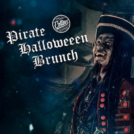 Pirate Halloween Bottomless Brunch at Cottons Vauxhall