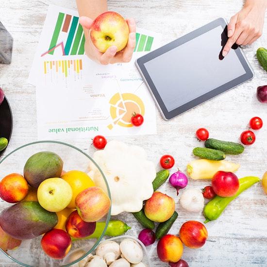 Curso online de alimentación y dietética