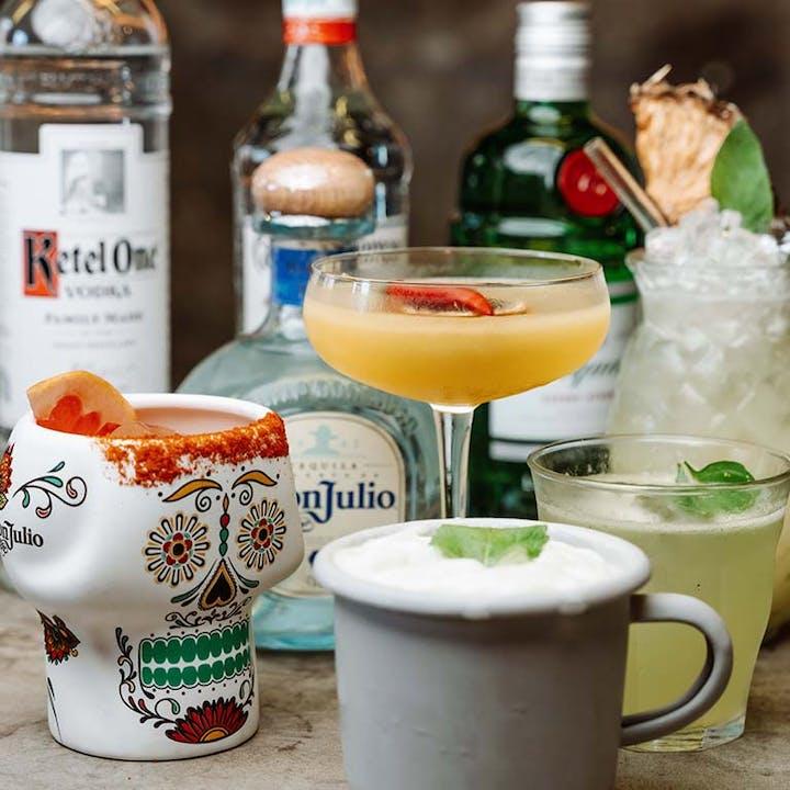 Degustação exclusiva de 5 cocktails