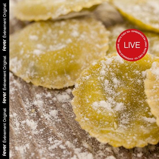Atelier ravioles en ligne : apprends à cuisiner avec une cheffe professionnelle !