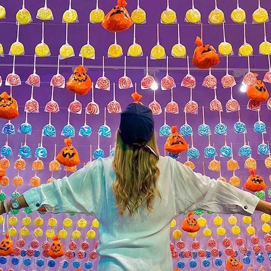 Halloween interactivo en Sweet Space, ¡El Mundo de los dulces!