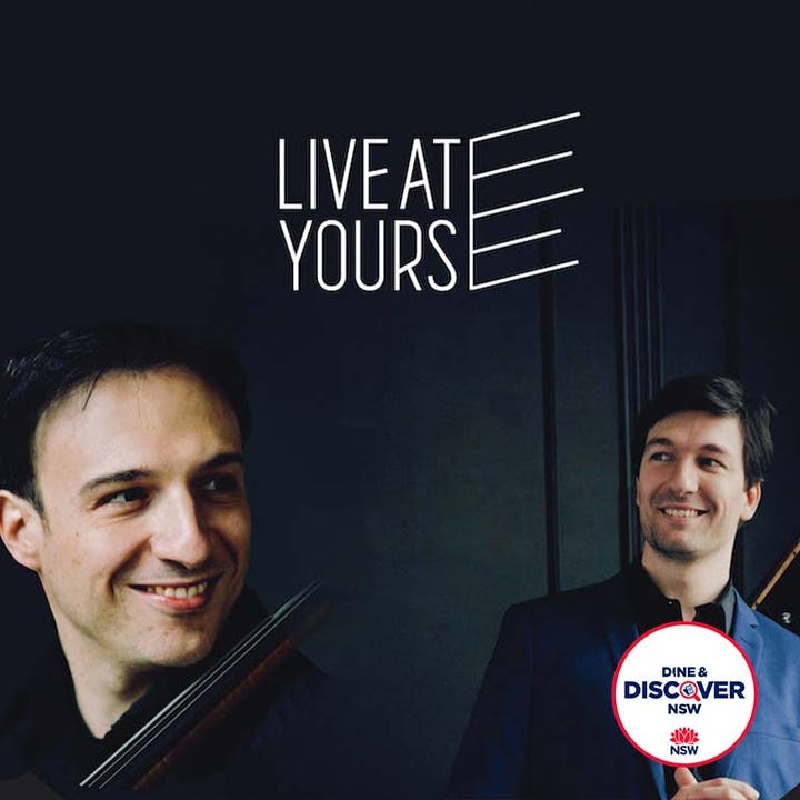 Live at the Great: Umberto Clerici and Konstantin Shamray