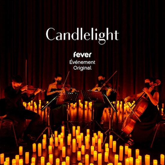 Candlelight Noël : Tchaïkovski et Dvorak, Quatuor à la bougie