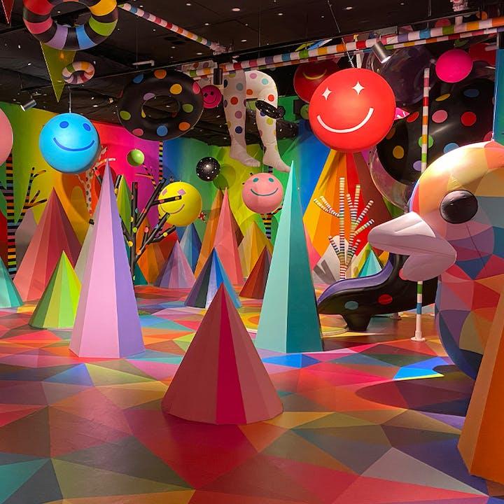 Experiencia interactiva en Sweet Space, ¡el mundo de los dulces!