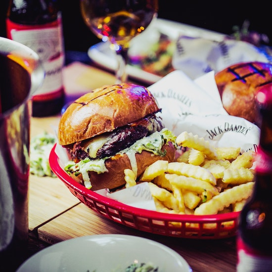 Beer Burger For World Cup At Piano Works Fever