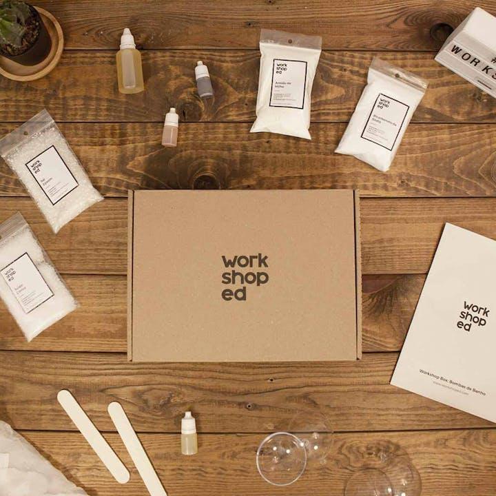 Faz as tuas próprias bombas de banho com esta Workshop Box