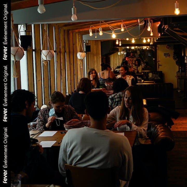 Drink & Match au Café de la Presse