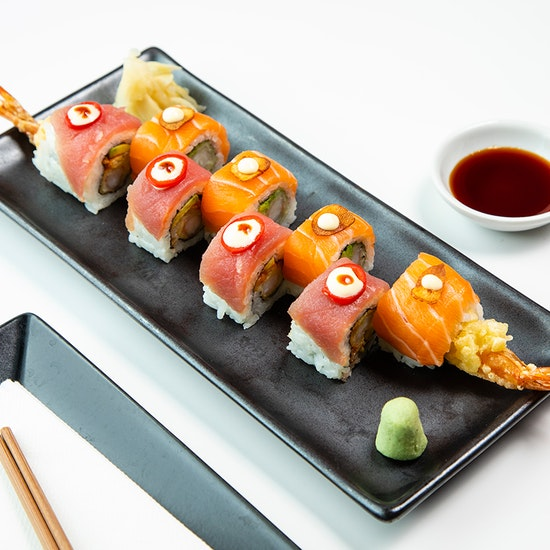 Sushi & Asian Tapas Afternoon Tea with Fizz at Inamo!