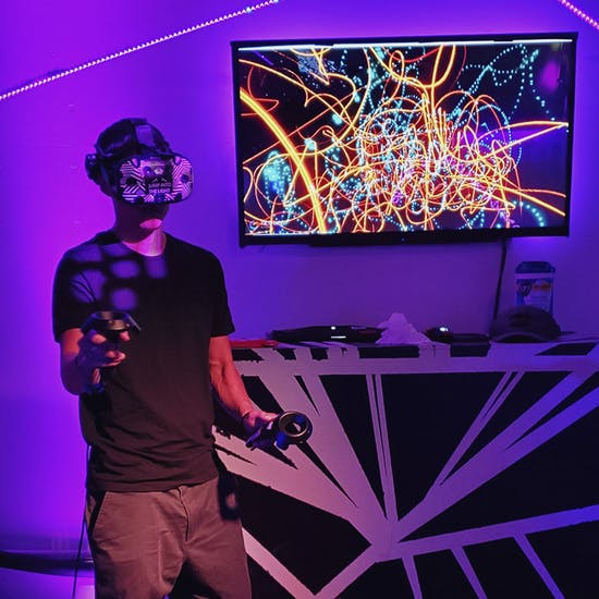 Paint And Sip In Virtual Reality Fever