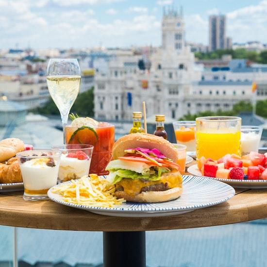 """Casa Suecia """"on the roof"""": delicioso Brunch con las mejores vistas"""