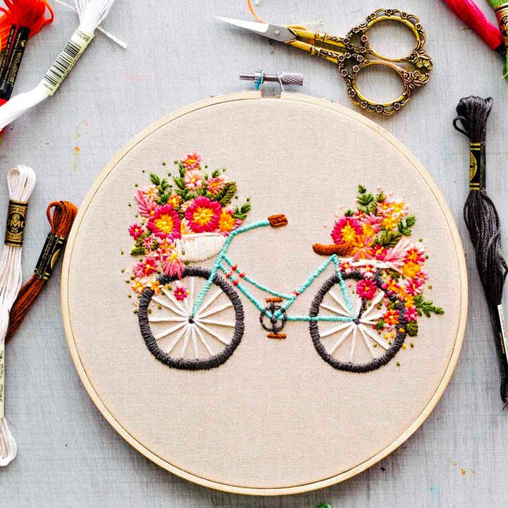 Embroidery For Beginners Fever