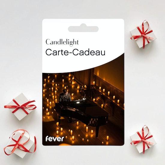 Concerts Candlelight : Carte-Cadeau Valable 1 an