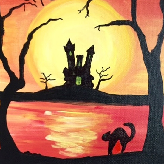Virtual Halloween Painting Party!