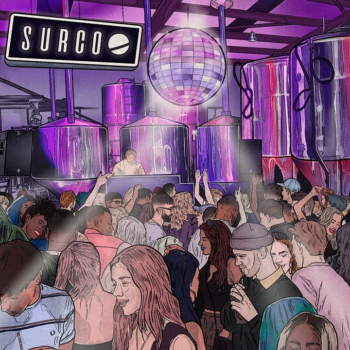 A Boogie in a Brewery: Surco's 6th Birthday Party
