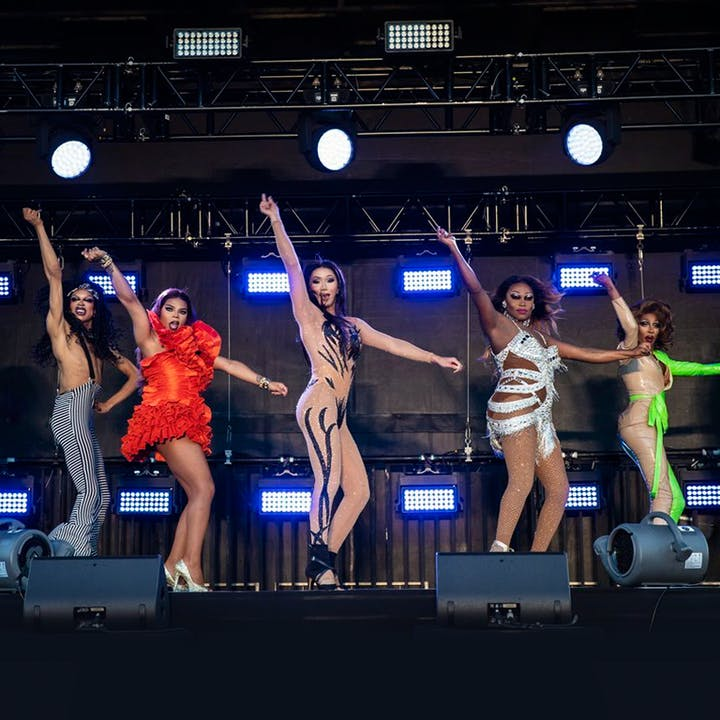 Drive 'N Drag Saves 2021 LA ft. RuPaul's Drag Race Stars