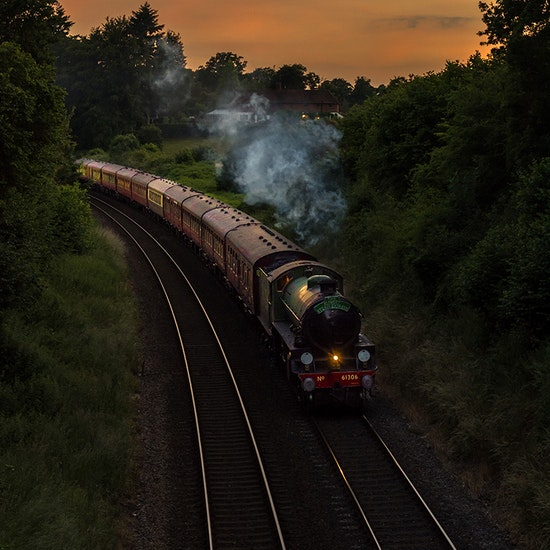 Sunset Steam Express Dining Experience
