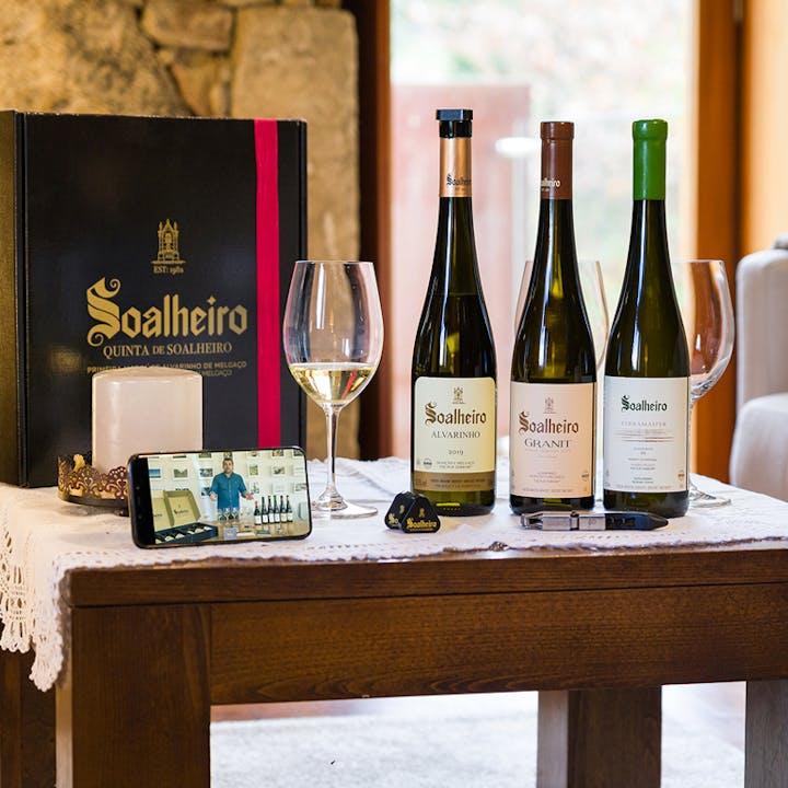 Soalheiro Digital Tasting: prova de vinho comentada em casa