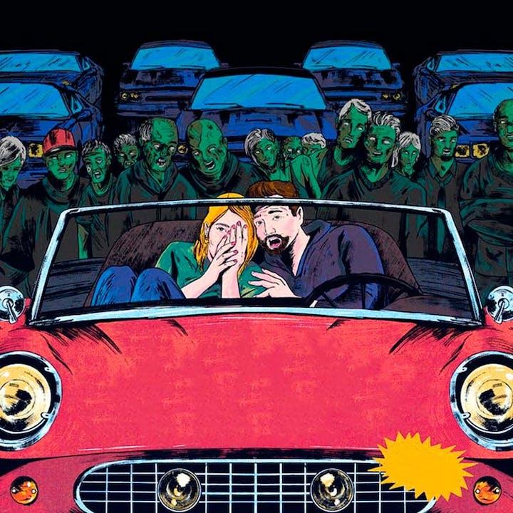Noche de horror con zombies en Autocinema Coyote