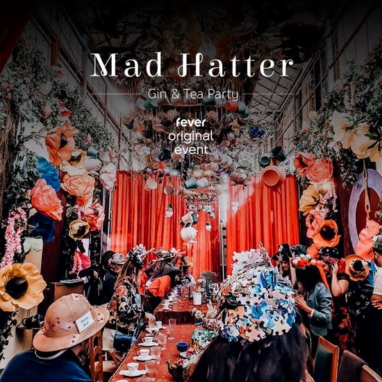 Mad Hatter S Gin Tea Party Los Angeles Fever