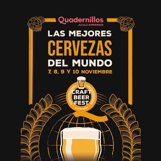 Quadernillos Craft Beer Fest: ¡más de 100 cervezas!