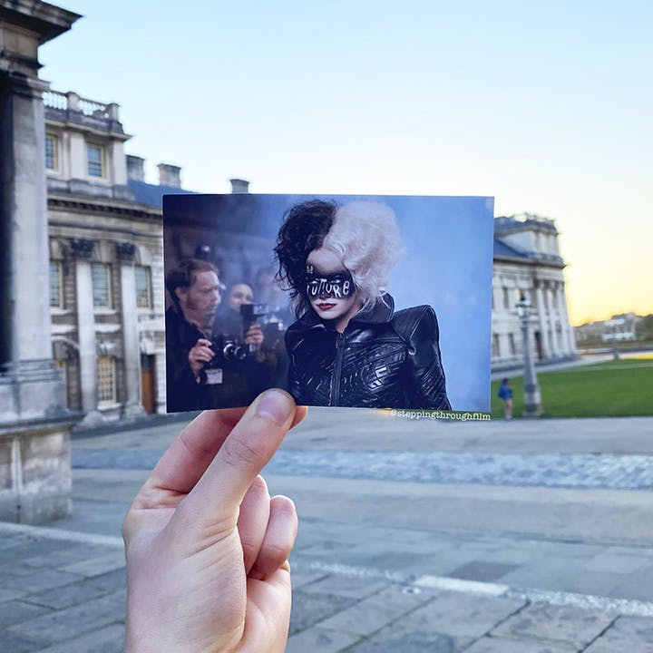 Film & TV Location Tour at the Old Royal Naval College