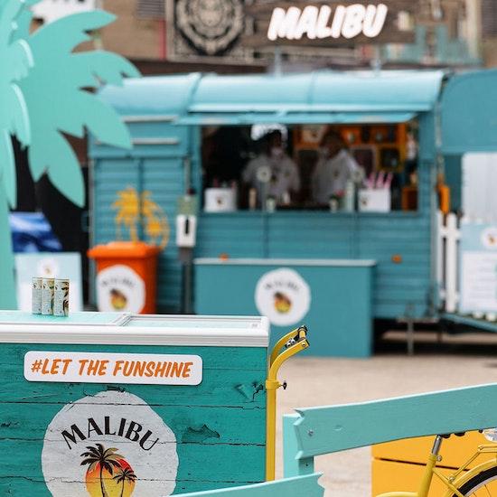 Malibu Let The Funshine Pop-Up