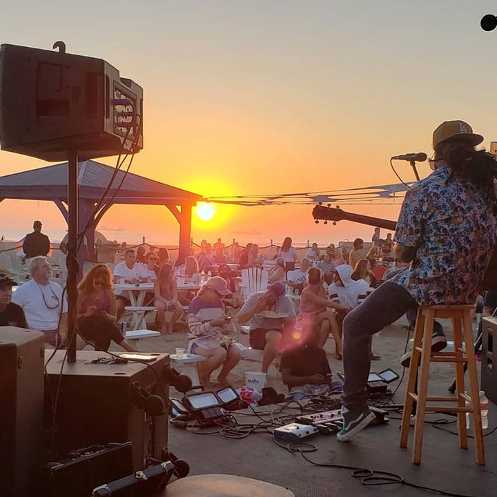 Comedy on the Beach with Live Music