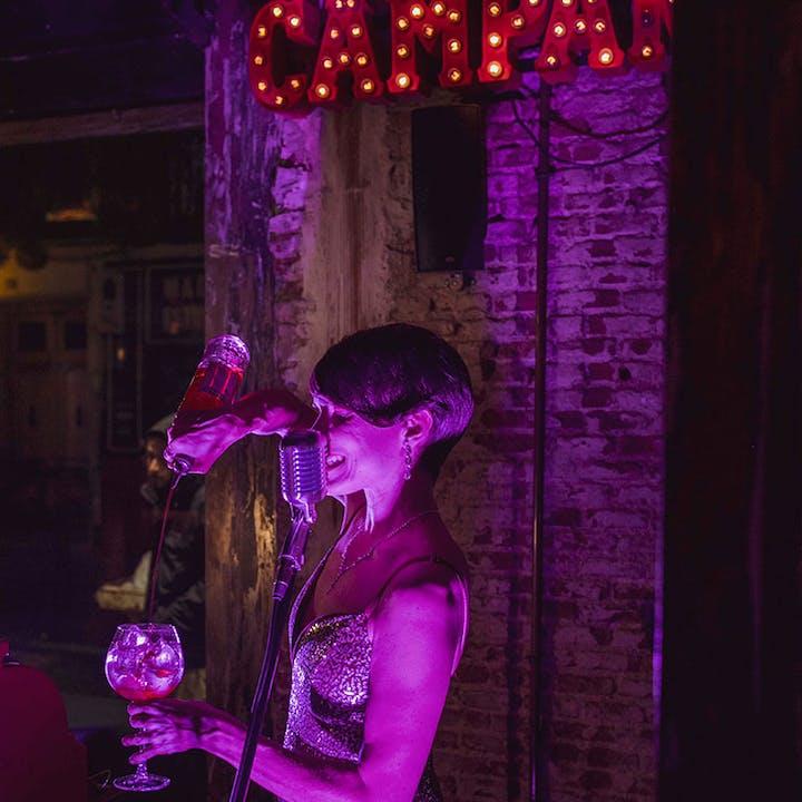 Live Jukebox Campari + 1 copa de Campari & Tonic en Crazy Horse