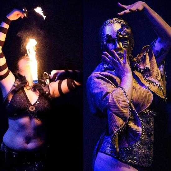 Newport Peek-Easy Burlesque Show